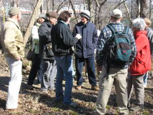 John Dodge leads botany talk with Barcroft workgroup