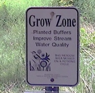 Grow Zone sign