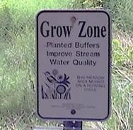 Grow Zone sign
