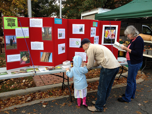 Falls Church Environment Booth - Falls Church Farmers Market