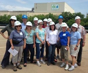 ARMN members visit Blue Plains Advanced Waste Water Treatment Plant