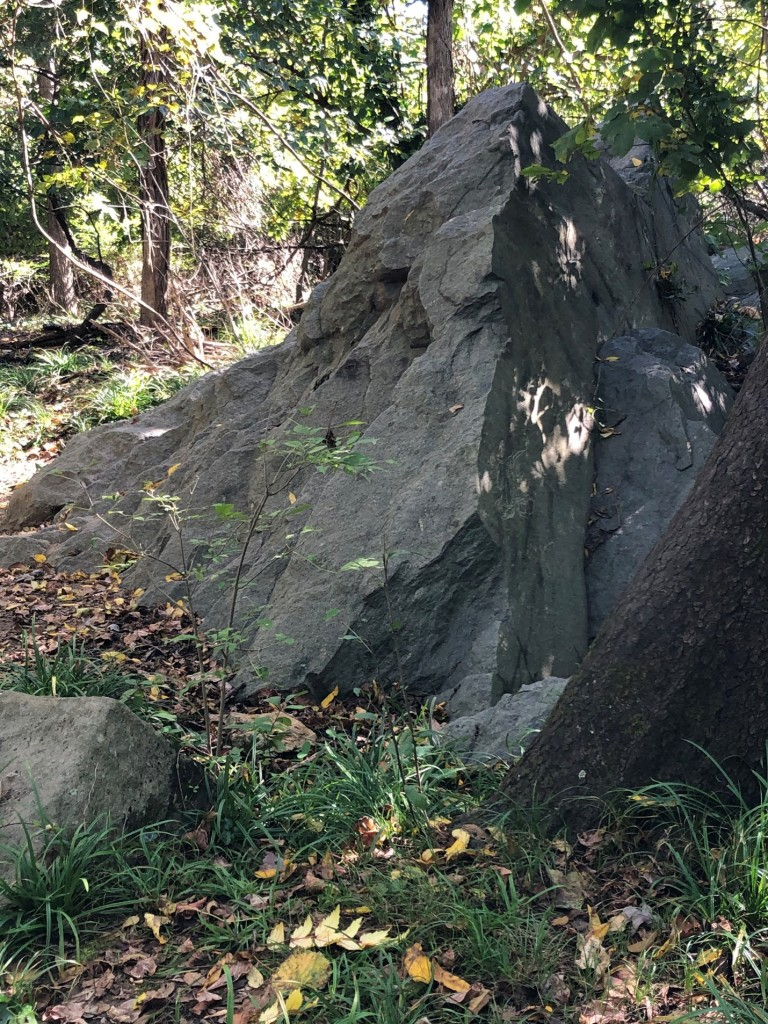 Photo of a boulder